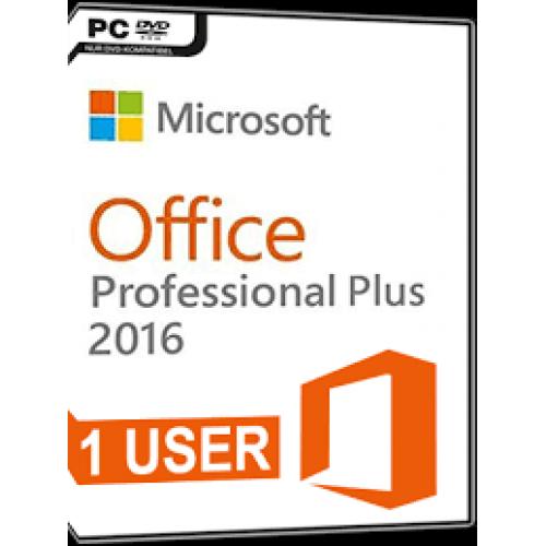 microsoft office professional plus 2016 (lifetime license)
