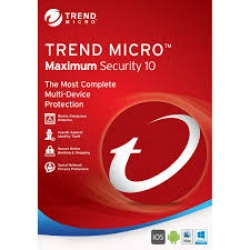 Trend Micro - Maximum Security 1 year 3 Devices
